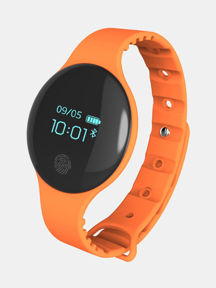 "Newchic coupon: 0.66"" OLED IP65 Waterproof Heart Rate Blood Pressure Monitor Smart Watch Bracelet"