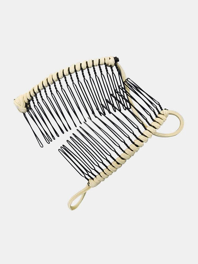 Magic 20/30 peignes à cheveux Vintage banane pince à cheveux extensible Double glissière peigne pince épingles à cheveux outils de cheveux