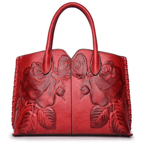 Designer Women Retro Pu Leather Handbag