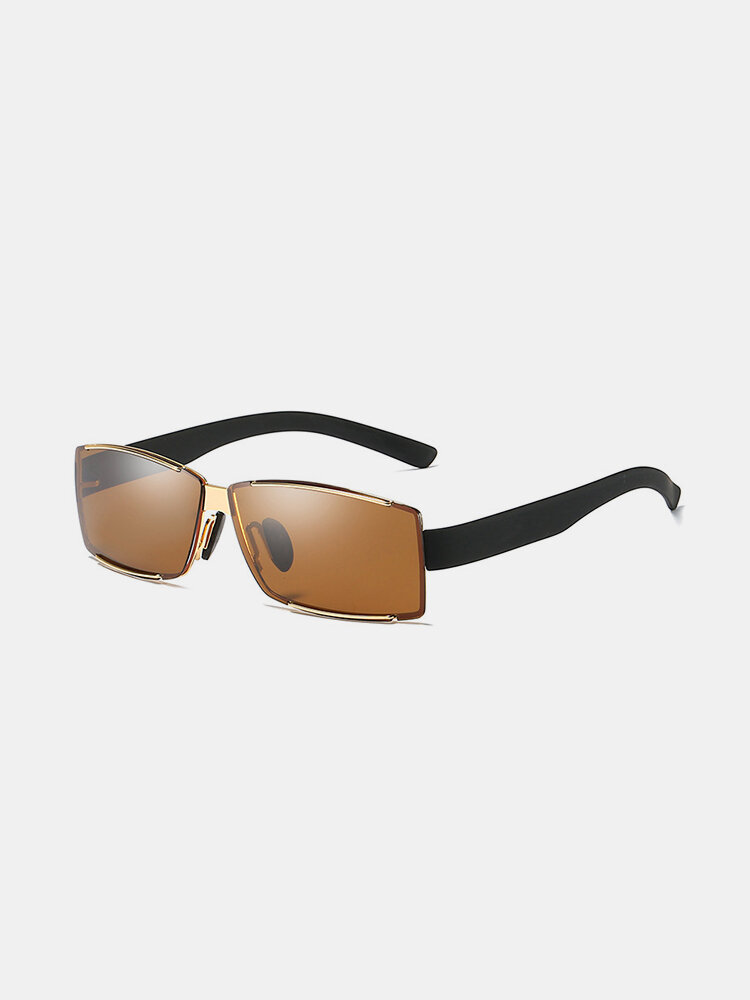Mens Polarized Anti-UV Fashion Sunglasses Outdoor Casual Vacation Driving Sunglasses