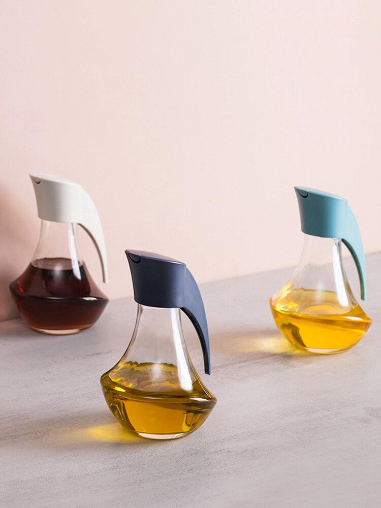 Botella de vidrio a prueba de fugas Oil Latas de vinagre de salsa de soja Oiler Recipiente de condimentos para cocina herramienta