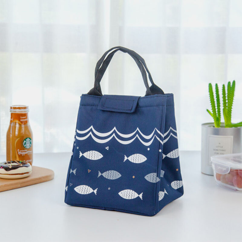 Insulation Waterproof Lunch Bag for Women