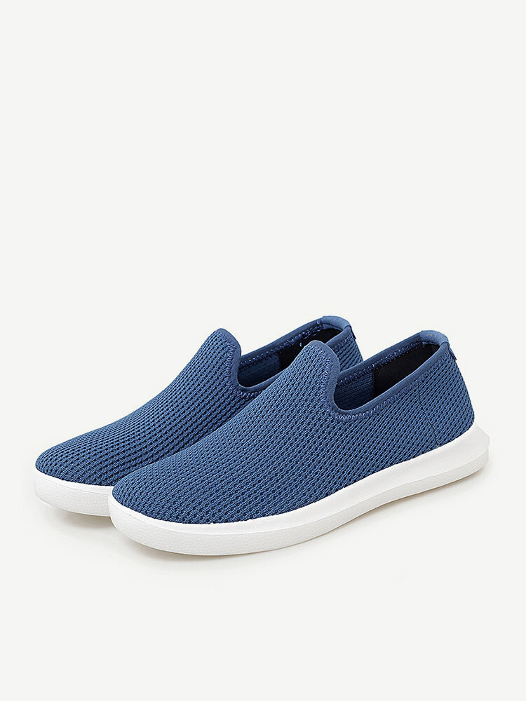Women Slip On Mesh Breathable Soft Sole Outdoor Casual Lazy Shoes
