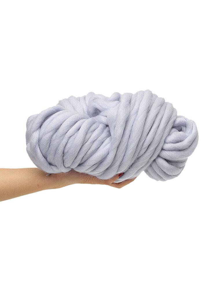 Filato di lana grosso Super Soft Braccio ingombrante per maglieria di lana Roving Uncinetto 250g Fai da te
