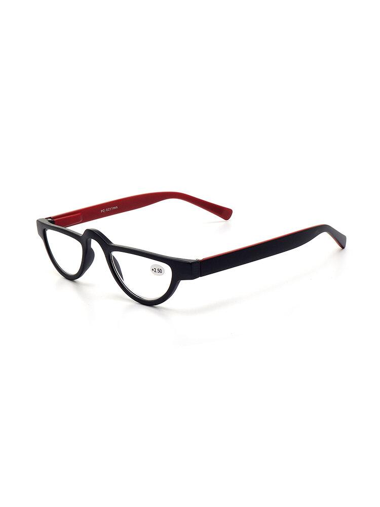 Damenmode Vintage Kunststoffbrille High Definition Slender Katze Lesebrille