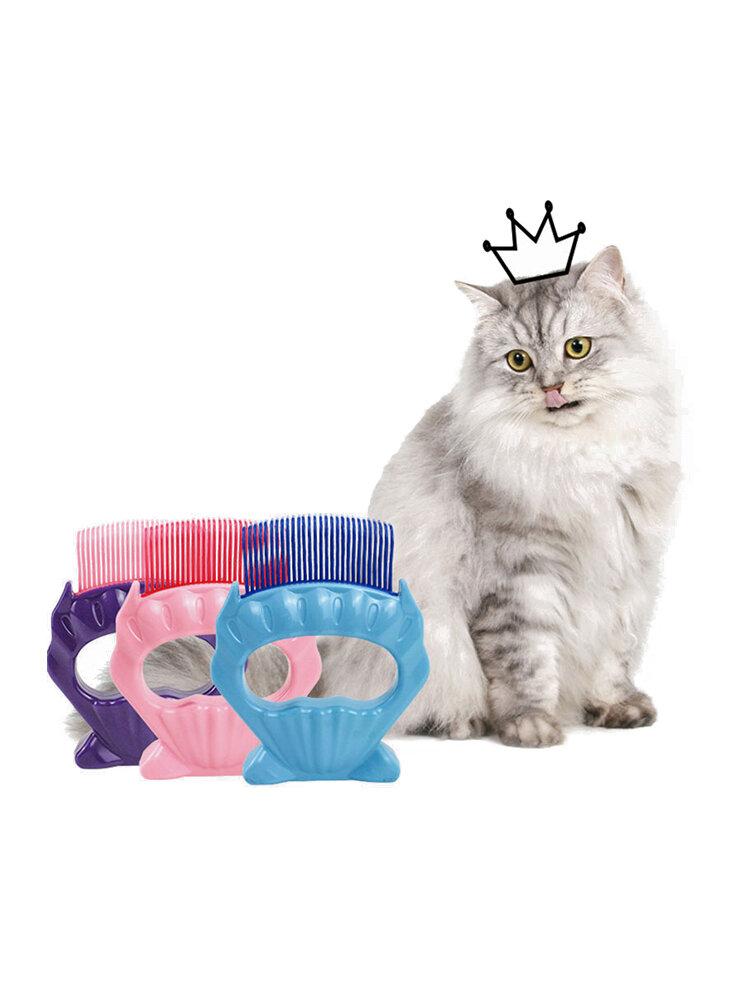 ペットコーム犬猫猫毛特別シェービングアーティファクトペットシェルコーム美容