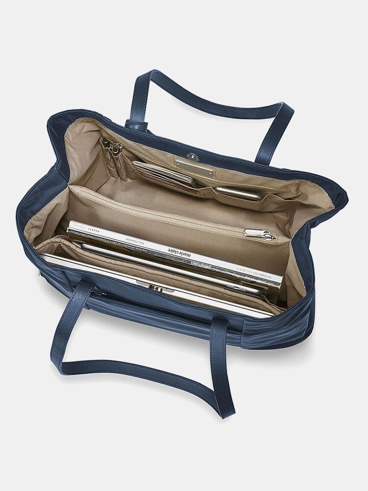 Lightweight Handbag Tote Multi-compartment Large-capacity Computer Bag Work Bag