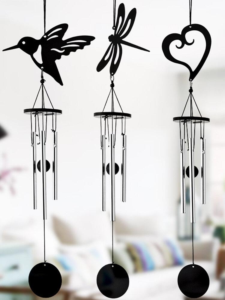 Metal Wind Bell Hanging Ornament Gifts Garden Outdoor Door Window Decor Wind Chimes