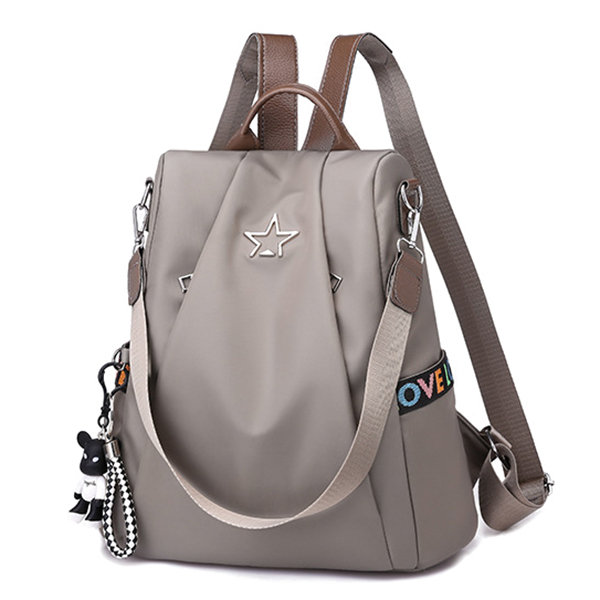 Women_Nylon_Waterproof_Backpack_Travel_Large_Capacity_Shoulder_Bag