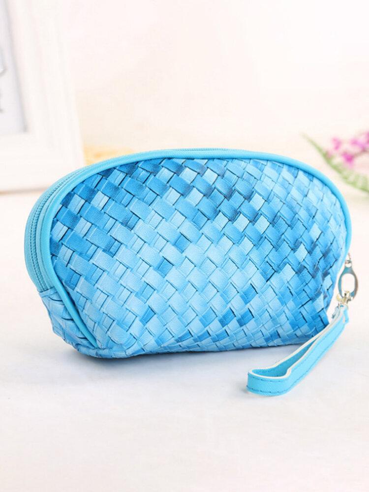 PU Waterproof Large Capacity Cosmetic Bag Multi-Function Ttravel Storage Bag