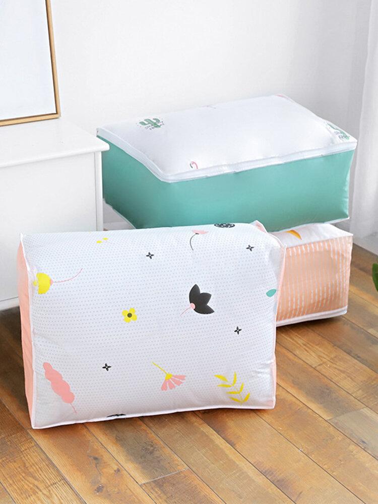Hand Bag Type PEVA Material Quilt Clothing Storage Bag Household Packing Duffel Bag