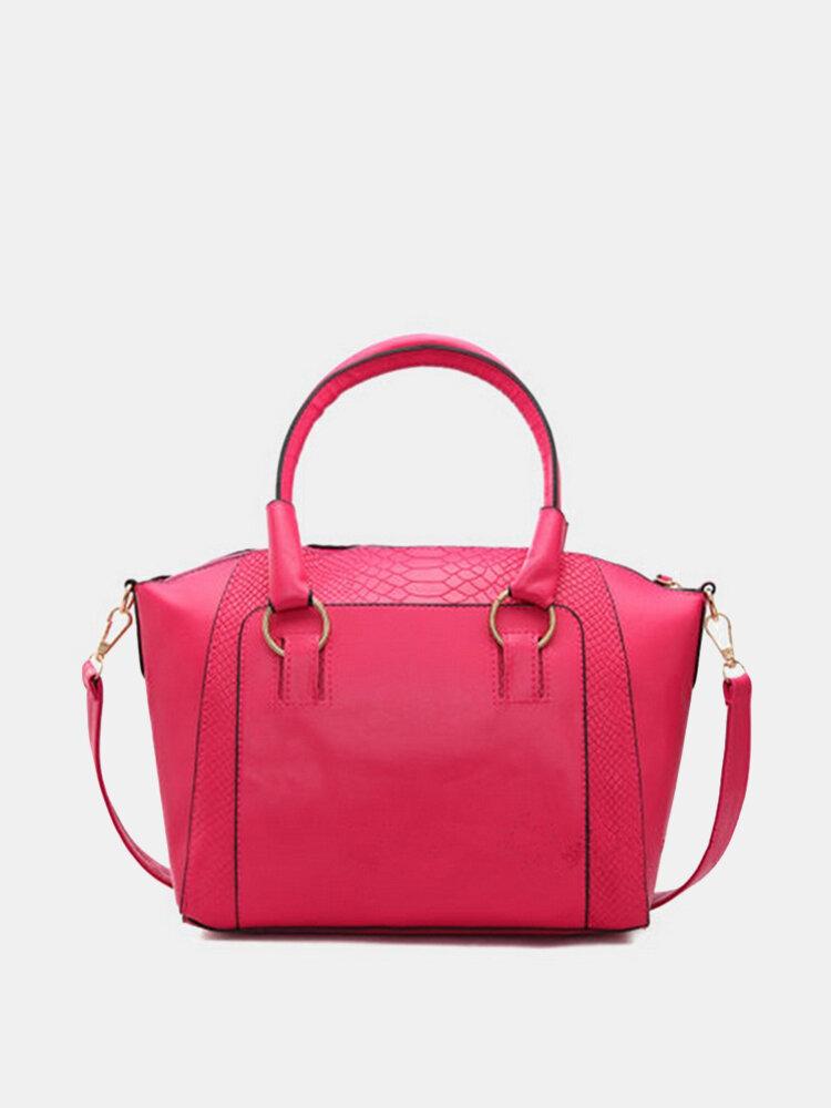 Women Fahsion Vintage Big Casaul Crossbody Bag
