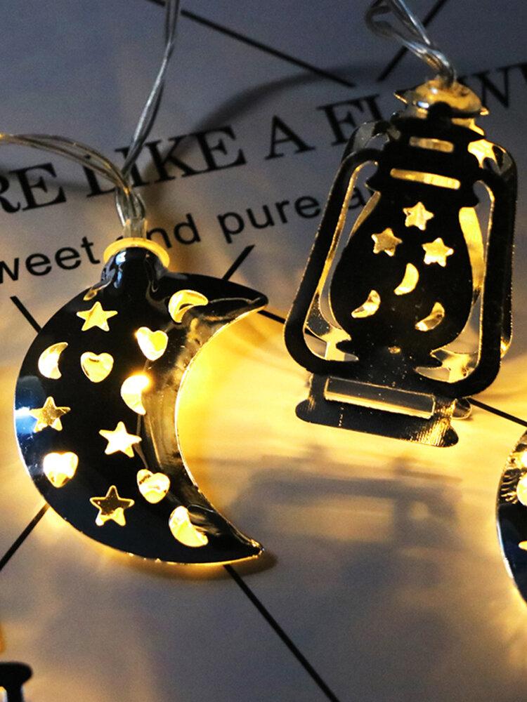 Eid Ramadan Mubarak LED Fairy String Lights Muslim Islamic Party Decor Gift