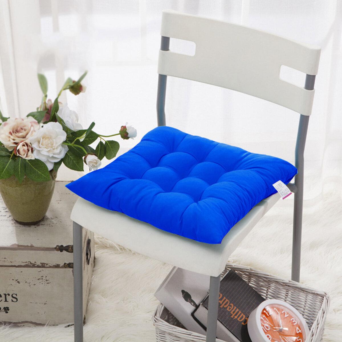 <US Instock>Cuscino per sedile in vimini da esterno tropicale antiscivolo multicolore da 15,7 * 15,7 pollici