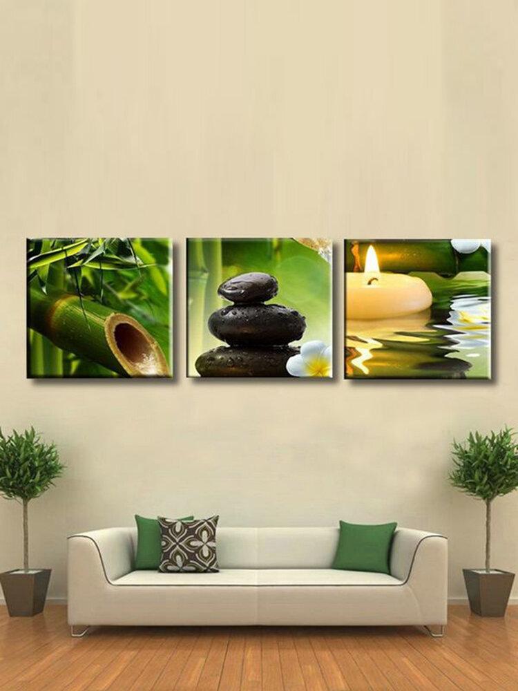 3 pièces sans cadre peinture moderne toile mur Art photo salon décor à la maison