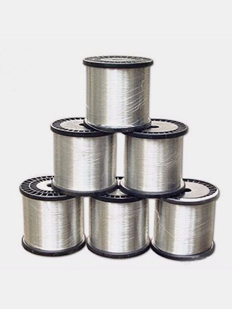 1m/40inch DIY 900 925 Sterling Silver Wire Jewelry Bead Line