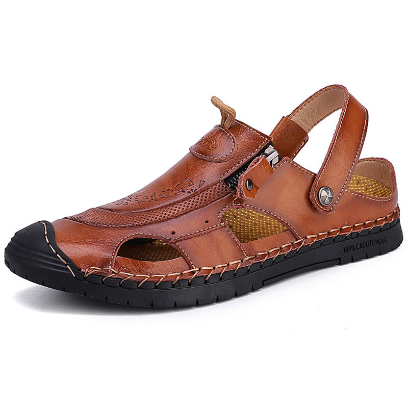 Large_Size_Men_Hand_Stitching_Leather_Anticollision_Nonslip_Casual_Sandals