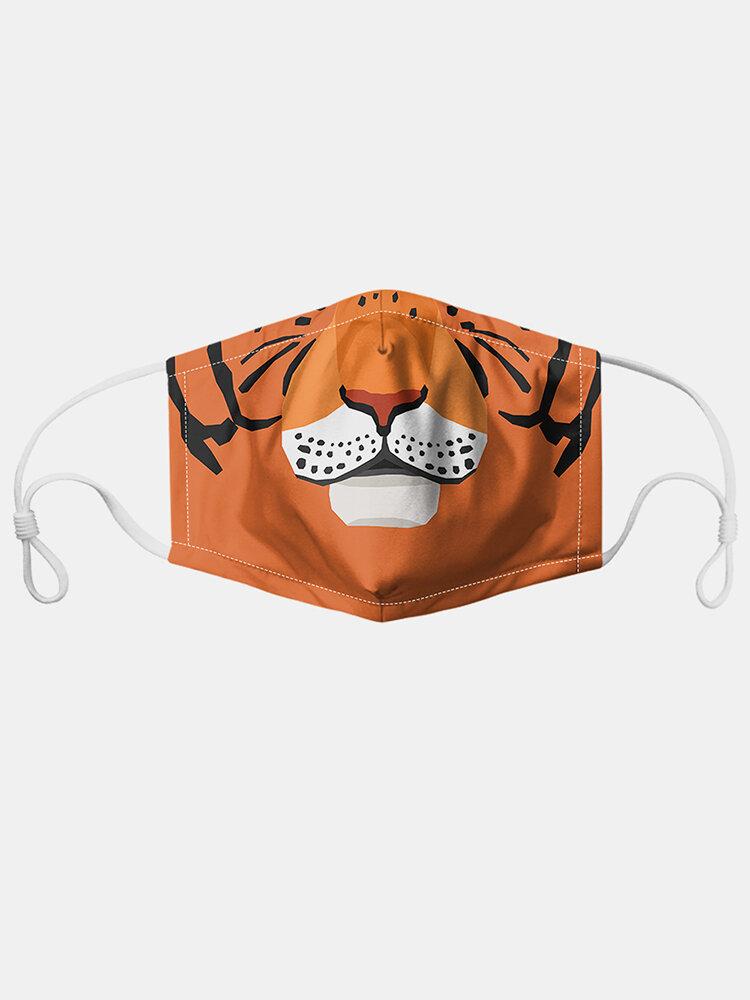 7つのマスクのガスケットが付いているトラパターンポリエステル方法防塵マスク