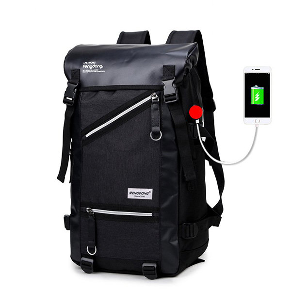 Oxford Large Capacity Waterproof Backpack Outdoor Mountain
