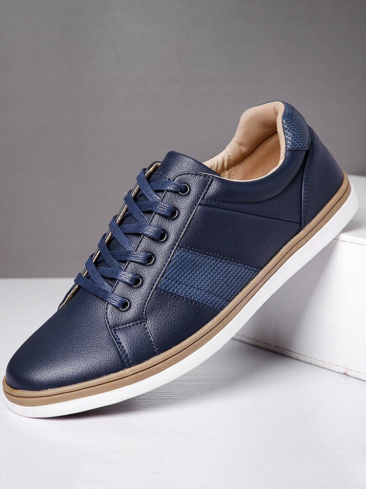 Menico Men Microfiber Leather Non Slip Sport Casual Shoes