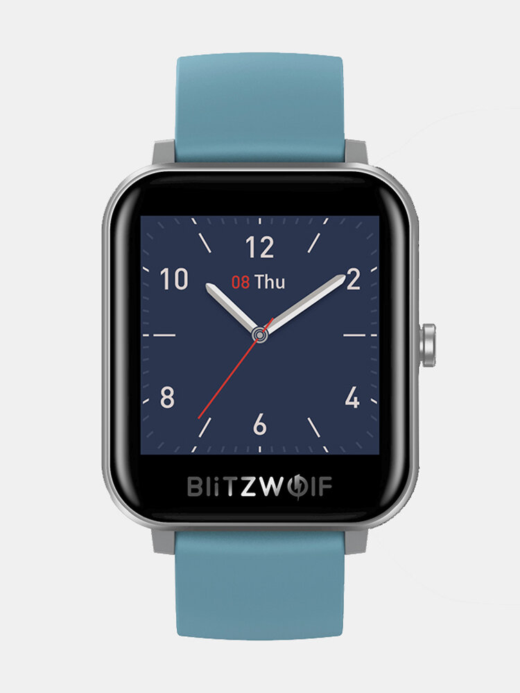 [Bluetooth Call]7x24h Heart Rate Monitor 60+ Watch Faces Weather Display Music Control Smart Watch