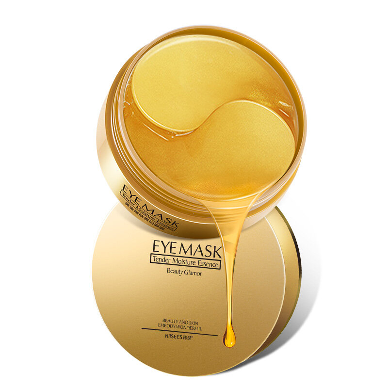 24K Gold Rejuvenating Eye Mask Moisturizing Hydrating Firming Eye Mask Face Care