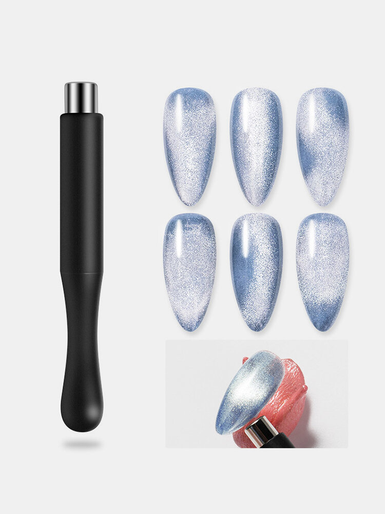 Cat Eye Magnet Spar UV Gel Polish Special Soft Elastic Fancy Cylindrical Powerful Magnet Nail Tool
