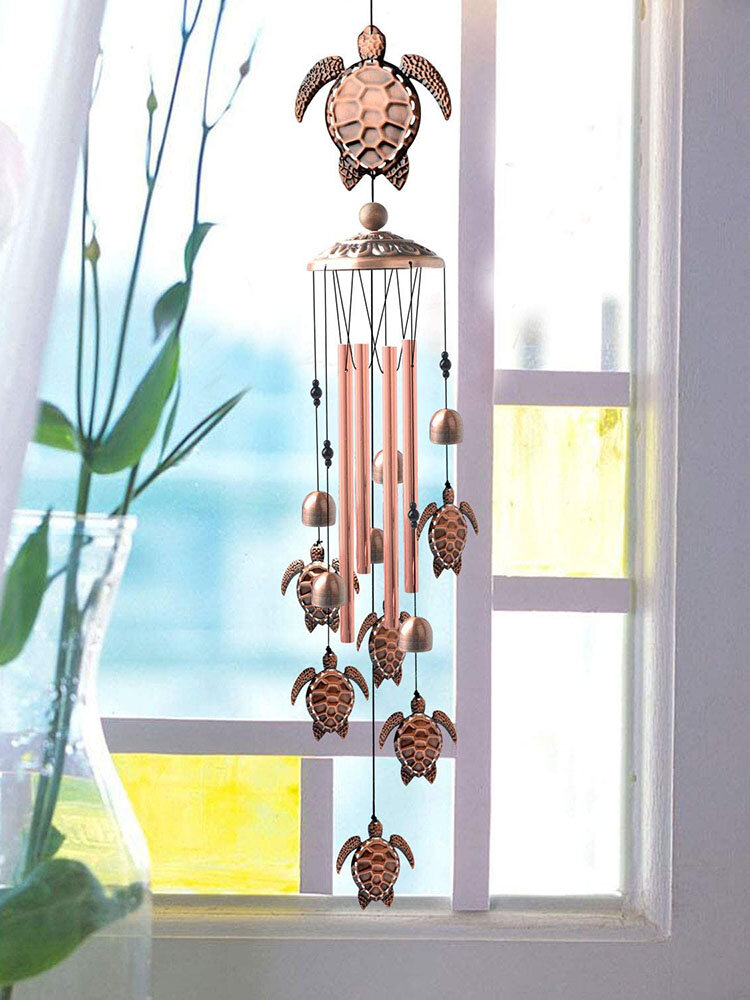 1PC Tortoise Antique Wind Chimes Hanging Ornament Home Outdoor Garden Yard Decor With Hook