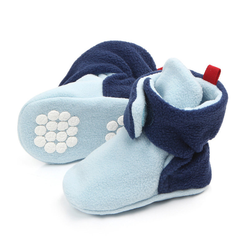 Fleece Warm Baby Soft Flats First Walker For 0-2 Years
