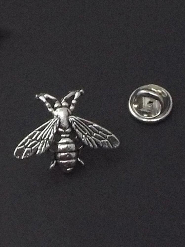 Retro Wild Small Bee Brooch Gold Silver Metal Alloy Pin Buckle Brooch Women Jewelry