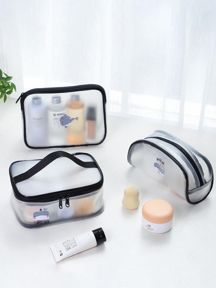 Transparent Cosmetic Bag Portable Travel Portable Waterproof Bag Toiletries Storage Bag