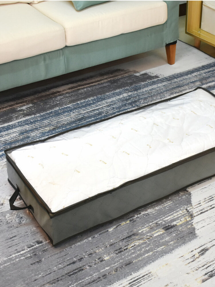 Foldable Under Bed Storage Box Quilt Storage Bag Wardrobe Dustproof Clothes Storage Bag