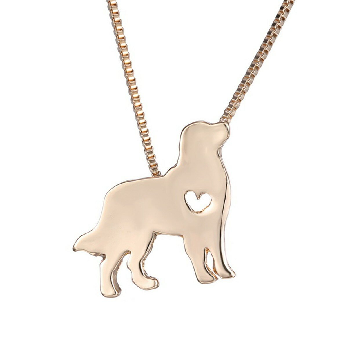 Cute Alloy Dogs Shaped Necklace