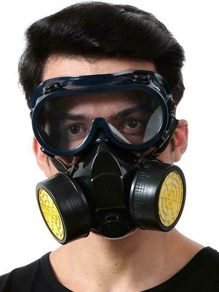 Gas Mask Protection Filter Chemical Respirator Safety Dust Mask