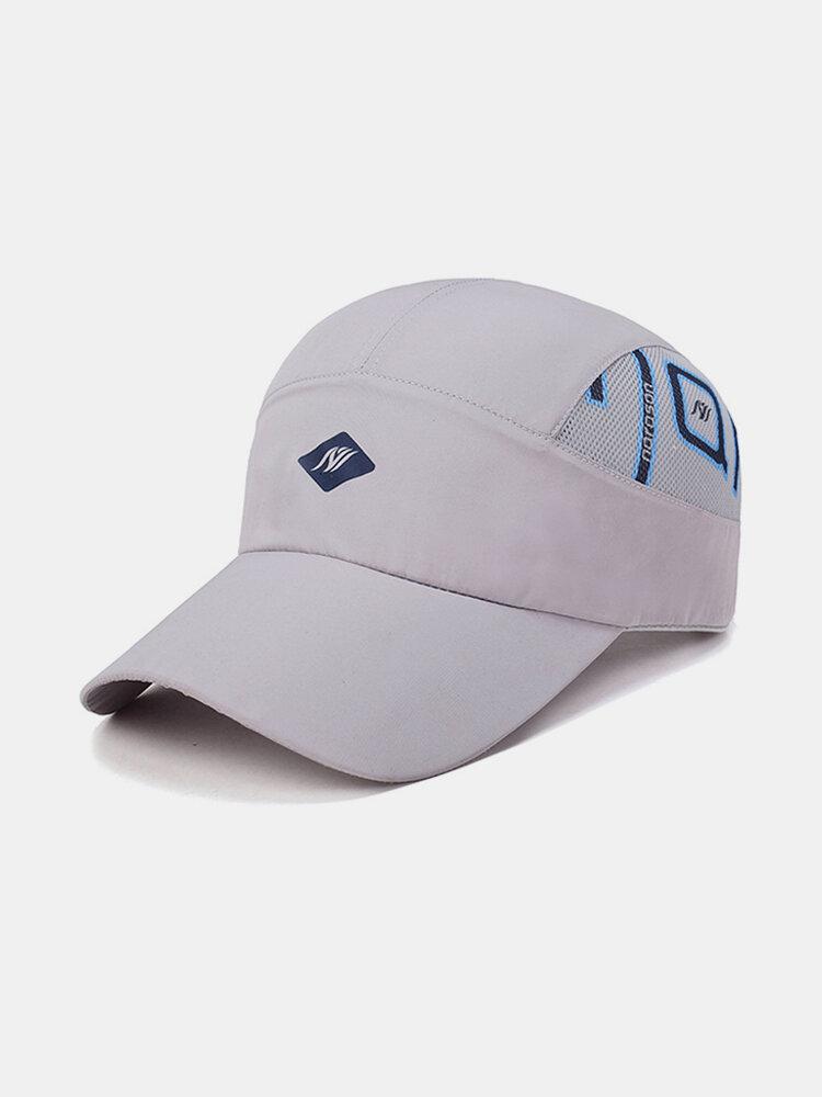 Summer Quick-Drying Baseball Cap For Mens Women Mesh Breathable Hats Sunshade Caps