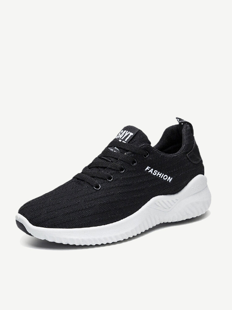 Men Sports Fabric Non Slip Breathable Casual Running Sneakers