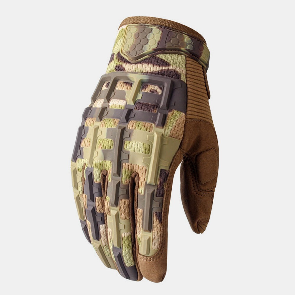 Tactical Gloves Outdoor Sports Mountaineering Training Fitness Non-slip Gloves Riding Motorcycle Full Finger Gloves