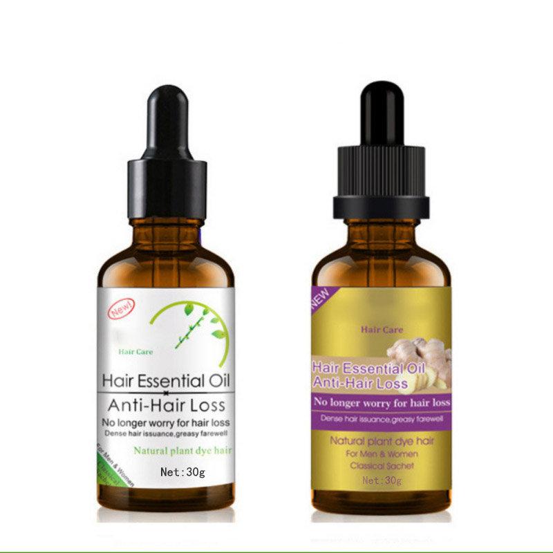 Hair Growth Essential Oil Anti-Hair Loss Ginger Oil Hair Care Essence Liquid Hair Treatment 30g