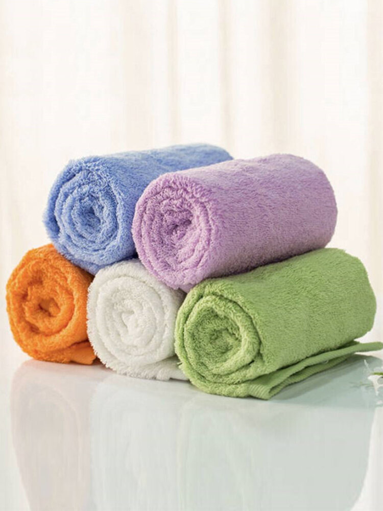Youth Series Towelcrofiber Cotton Fabric Antibacterial Water Absorption Towels