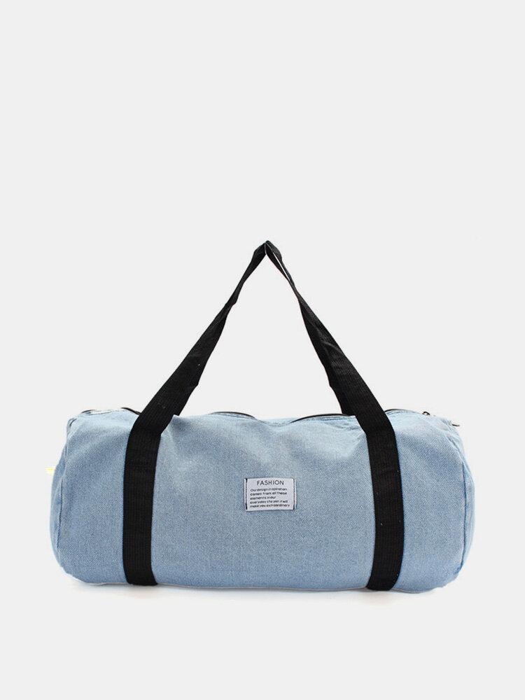 Women Large Capacity Travel Jean Bag
