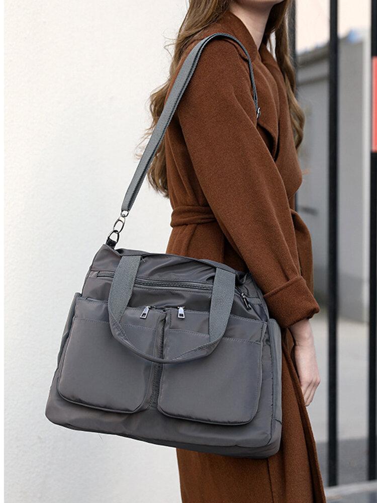 Large-Capacity Shoppping Bag  Multi-Portable Shoppping Bag Lightweight Shopping Bag Mummy's  Shoppping Bag