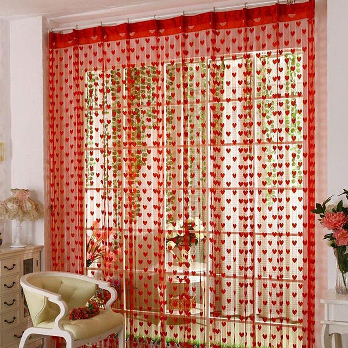 New Line Drop String Door Window Curtain Divider Tassel Valance Home DIY Decor