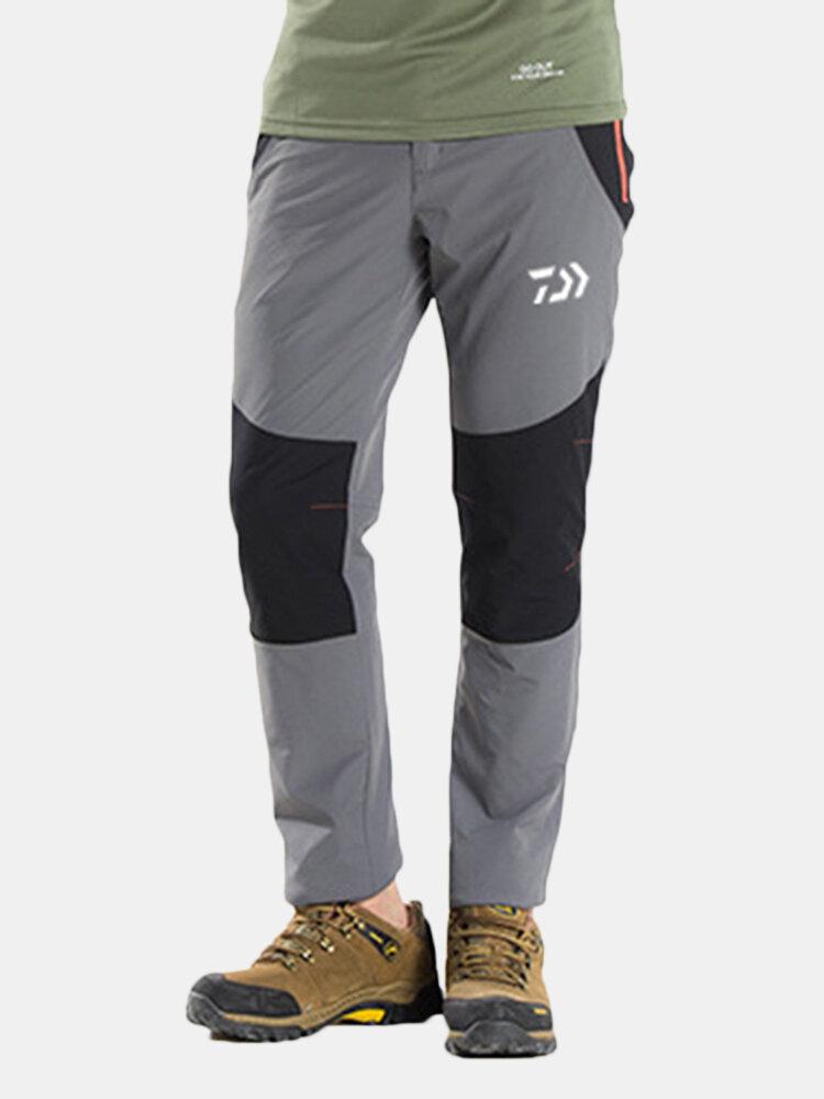 Pantalon de sport d'escalade coupe-vent imperméable au vent à la taille élastiques - Newchic - Modalova