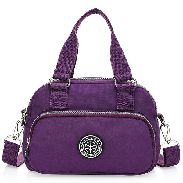 Women Nylon Little Crossbody Bag Nylon Phone Bag Handbag