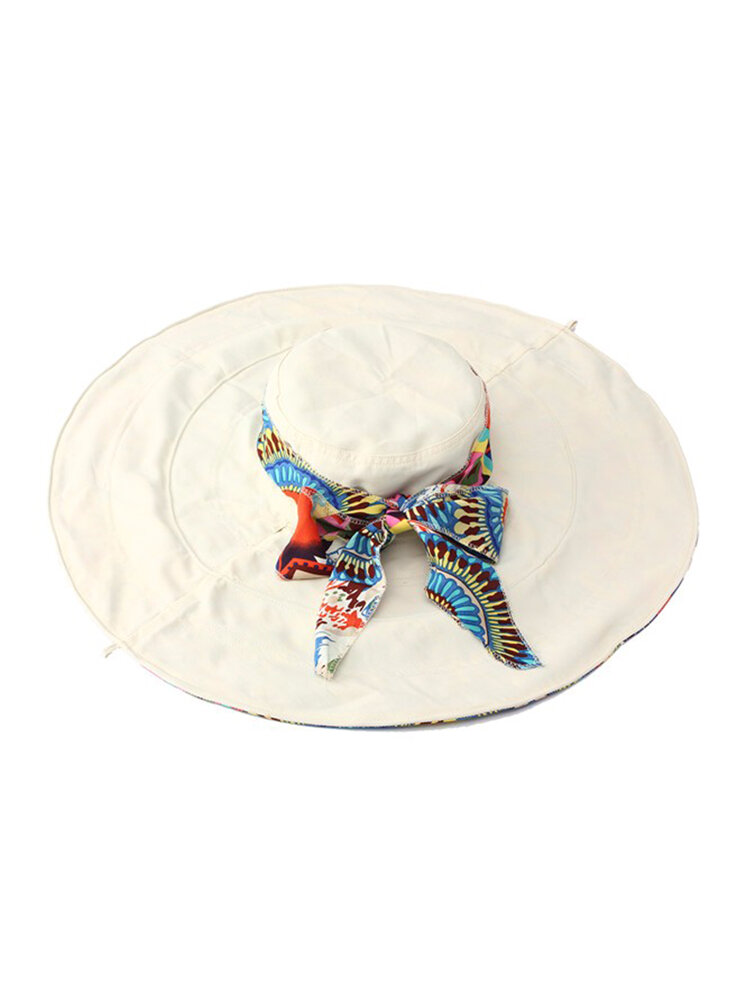Women Ladies Beach Sun Gardening Hat Floppy Wide Large Summer Cap