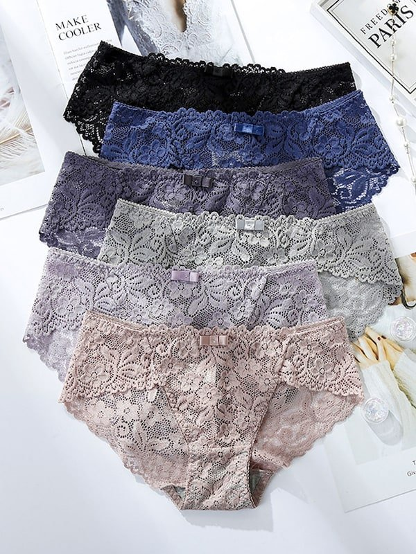 Womens_Briefs_Lace_Patchwork_Low_Waist_Hollow_Out_Breathable_Underwear