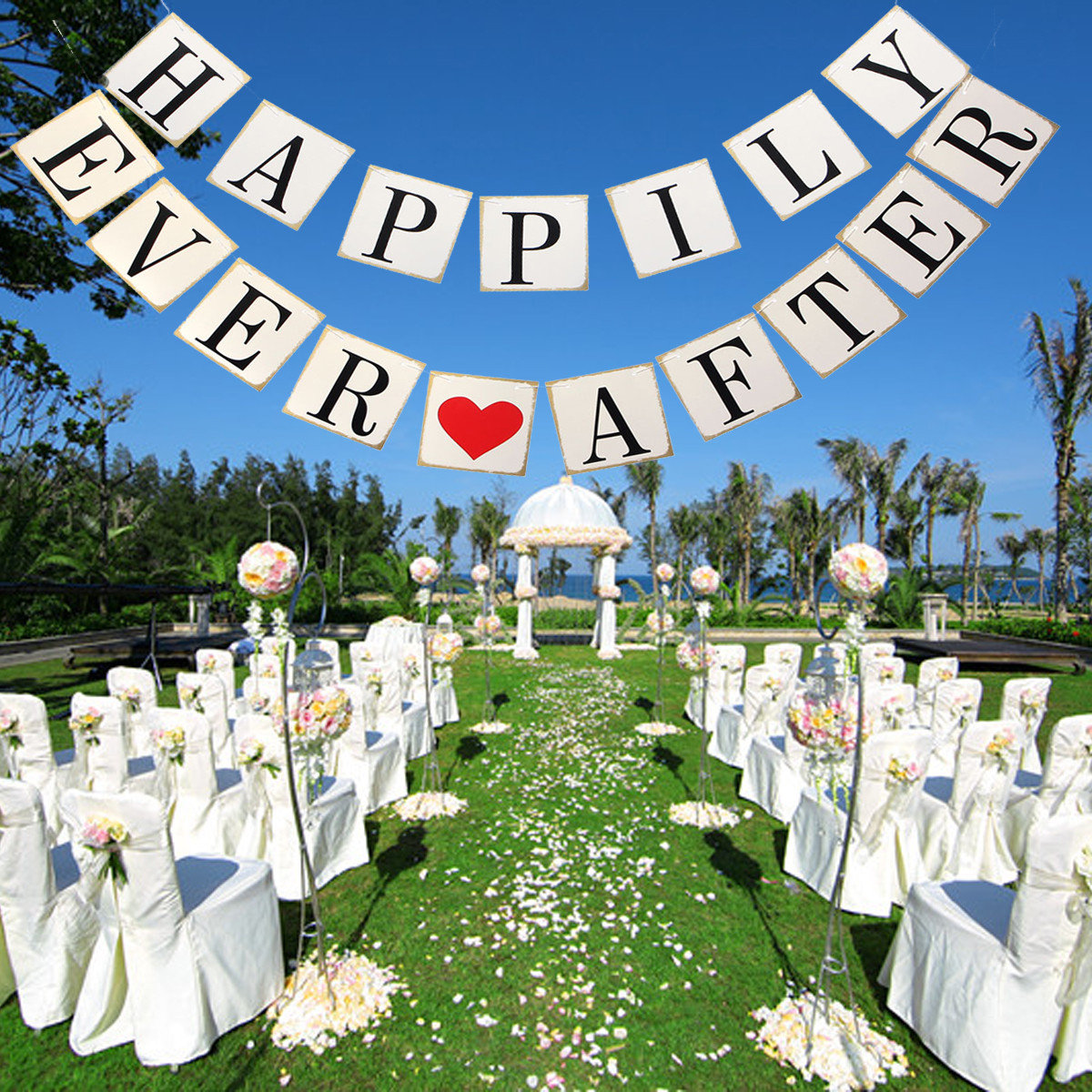 Paper Wedding Chair Garland Birthday Party Decoration Photo Props Accessory
