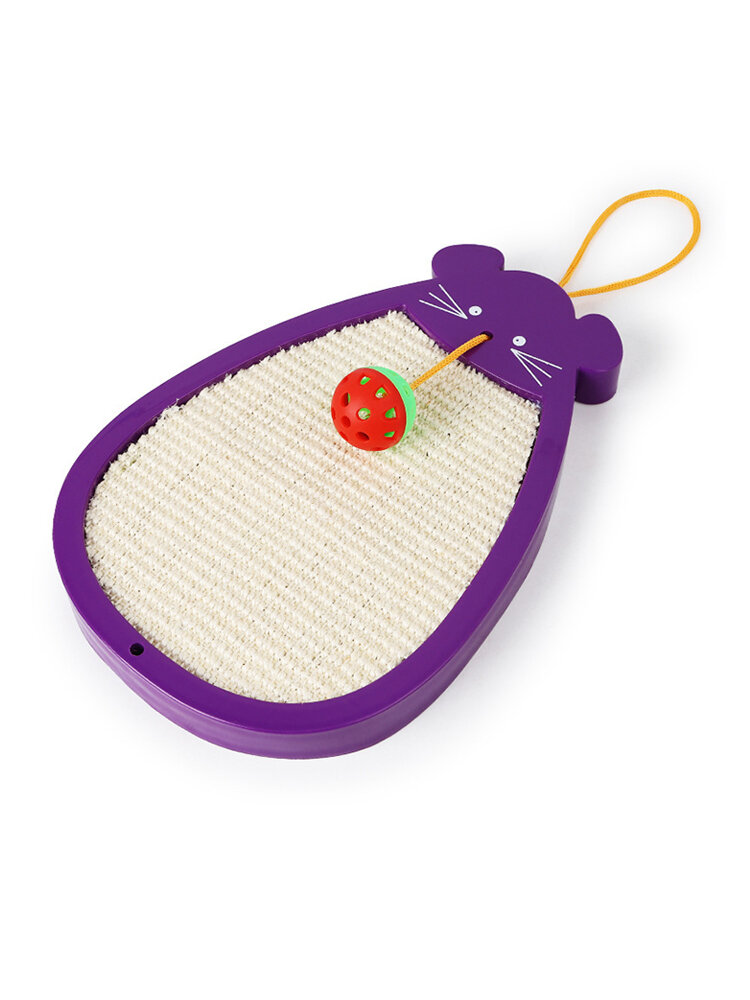 Mouse Type Ball Sisal Cat Scratch Board Wear Cat Claws Springboard Cat Toy