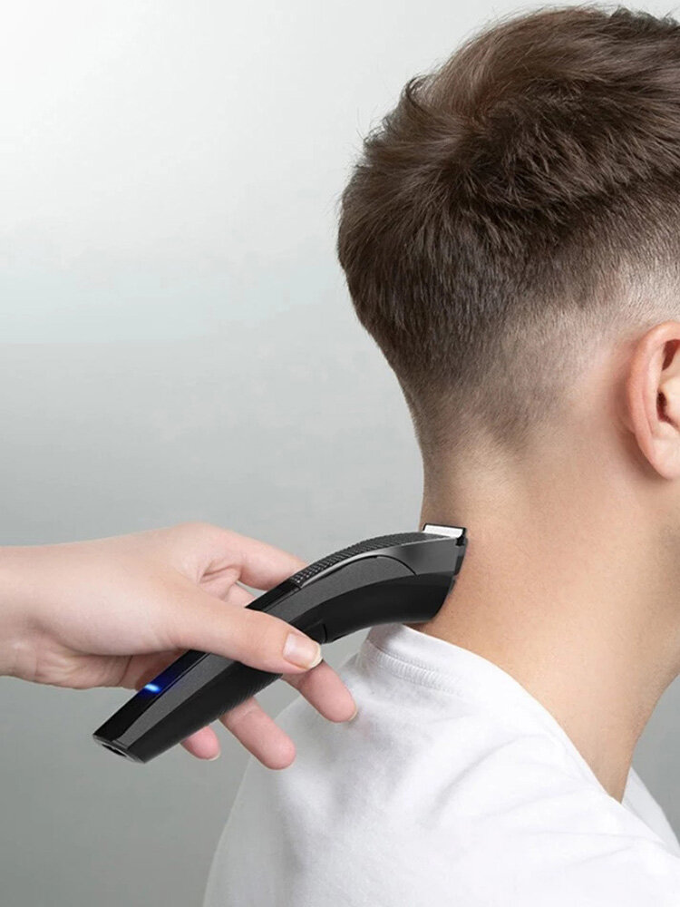 Men Professional Electric Hair Clipper USB Charging Detachable Cutting Head Low Noise Hair Trimmer