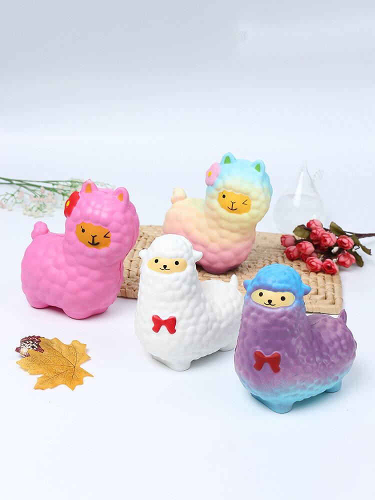 Squishy Cute Galaxy Alpaca Slow Rising Scented Fun Animal Toys